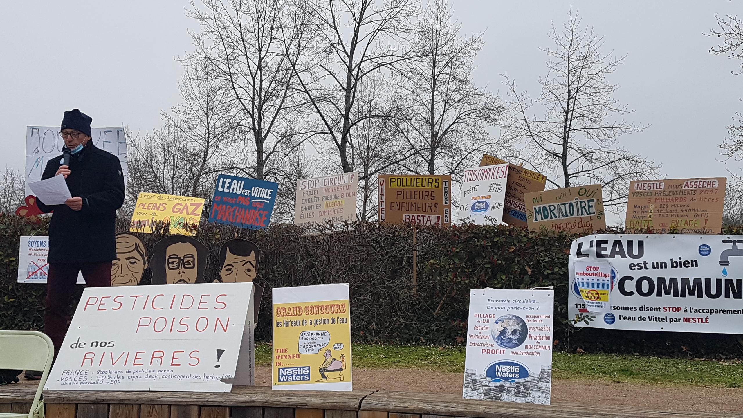 Vosges – Journée mondiale de l'eau : selon un hydrologue, «le changement climatique modifie nos règles de consommation»